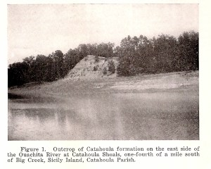 Photo mid 1930's from Geology of Catahoula and Concordia Parishes LGS